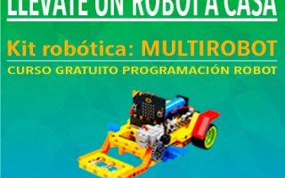 Marathon en casa: 5 robots, 5 semanas