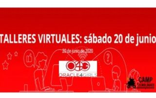Talleres virtuales Oracle for Girls 20 junio