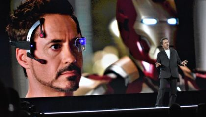 Iron Man quiere limpiar el planeta con la tecnología y la robótica