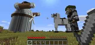 Don Quijote Minecraft