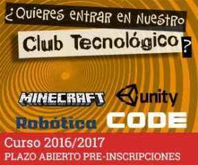 Club Tecnológico Curso 2015-16