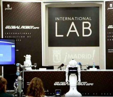 Robotica educativa, expo, madrid, camp tecnologico, tecnologia, robot, talleres, programacion