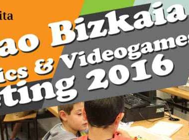 Bilbao, Bizkaia, robotica educativa, programacion,Robotics, Videogames, Meeting, 2016, Camp Tecnológico, evento, tecnologia, az, azkuna zentroa