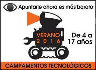 Campamentos Tecnología Verano 2016
