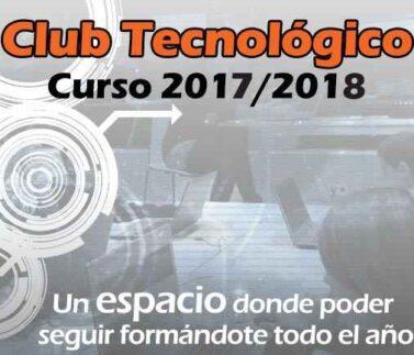 Durante todo el año escolar organizamos el Club Tecnologico los fines de semana con robotica educativa, programacion de videojuegos, electronica divertida