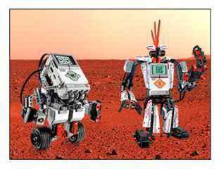 Taller con título Misión a Marte con robots en Camp Tecnológico donde aprenderán robótica educativa