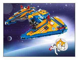 Taller especial para los más pequeños titulado Misión espacial con Scratch y lego wedo donde además de aprender robótica educativa aprenderan a programar.
