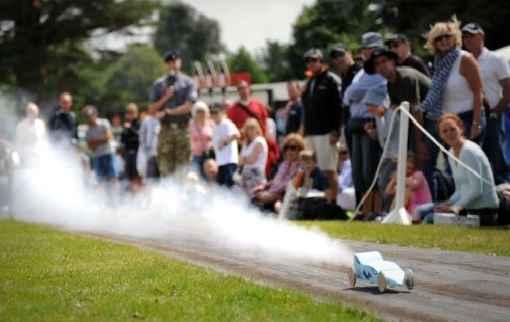 Campamento en inglés Rocket Cars