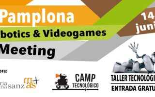 Pamplona Robotics & Videogames Meeting 2019