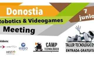 Donostia Robotics & Videogames Meeting 2019
