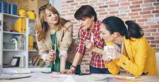 mujeres, emprendedoras, éxito