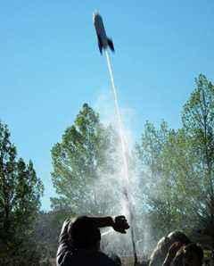 Cohete de agua