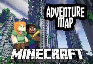 tecnologia para niños, Minecraft mapa de aventuras